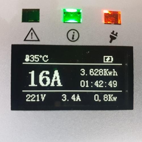 3-EV EVSE Typ 2 (max. 16A) Mobile Ladestation für Elektroautos